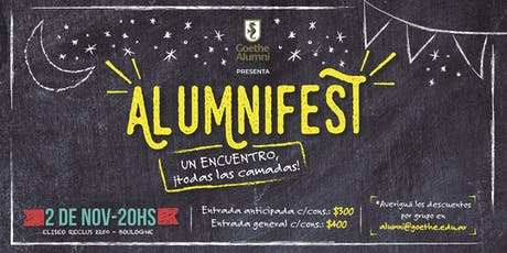 Alumnifest entradas