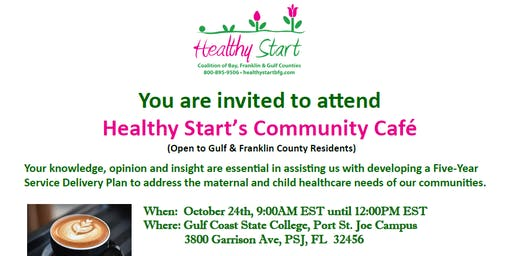 Healthy Start's Community Cafe for Gulf and Franklin Counties