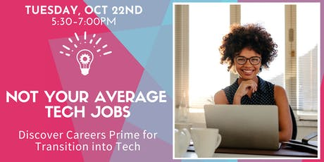 Not Your Average Tech Jobs w/ Remote Workforce Panel tickets
