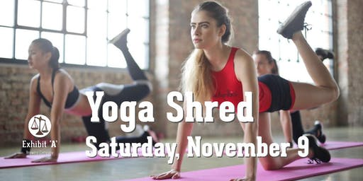Yoga Shred at Exhibit 'A' Brewing
