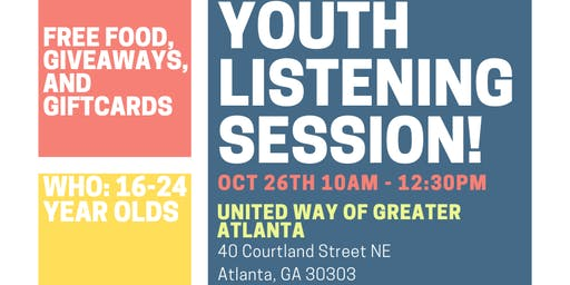 United Way - Youth Council's October Listening Party