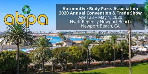 ABPA 2020 Annual Convention - Newport Beach, CA