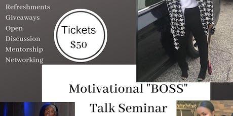 Motivational Seminar tickets