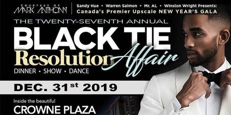 """BLACK TIE AFFAIR"" New Year's Eve Gala 2019 tickets"