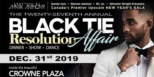 """BLACK TIE AFFAIR"" New Year's Eve Gala 2019"