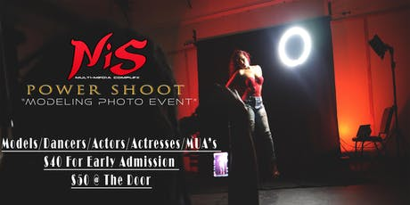 NIS Powershoot Modeling Event tickets
