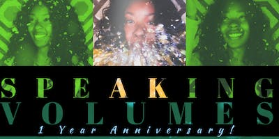 Speaking Volumes - 1 Year Anniversary