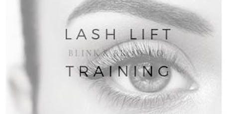Nov 4th Blink & Brow Lash Lift & Tint Training tickets