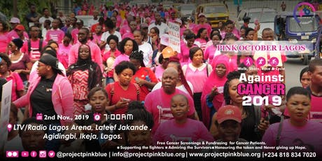 Pink October Walk, Race & Cycle Against Cancer Lagos, 2019 tickets
