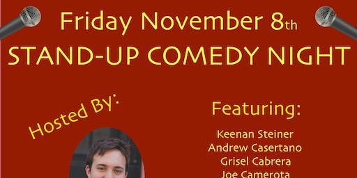 ONO BOWLS PRESENTS: STAND-UP COMEDY NIGHT!!!
