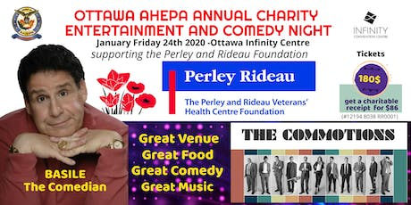AHEPA Annual Charity Entertainment and Comedy Night tickets