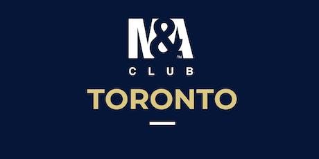 M&A Club Toronto : Meeting January 29th, 2020 tickets