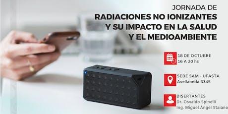 Radiaciones no ionizantes y su impacto en la salud y el medioambiente tickets