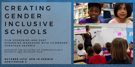 """Creating Gender Inclusive Schools"": Film Screening and Workshop tickets"