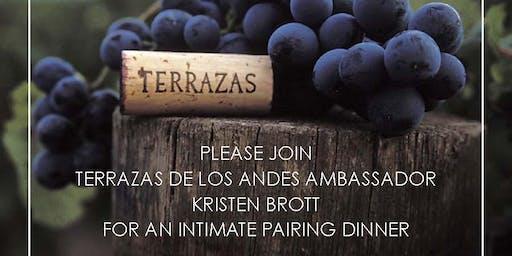 Terrazas De Los Andes Winemakers Dinner