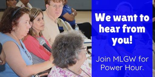 MLGW Power Hour community meeting