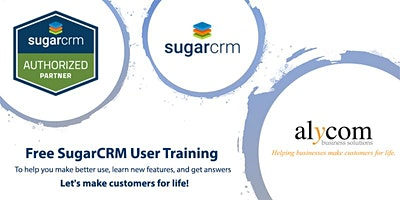 Free SugarCRM User Training – Ask questions, learn new features