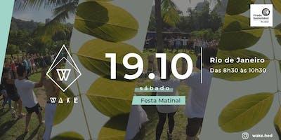Wake - Festa Matinal RJ na Virada Sustentável