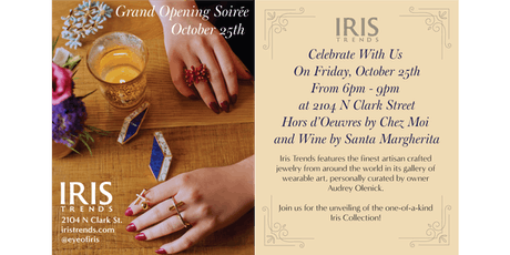 Iris Trends Lincoln Park Grand Opening Soiree tickets