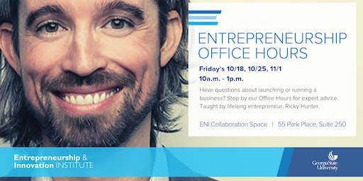 Entrepreneurship Office Hours