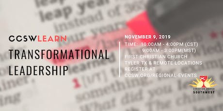 CCSW Learn: Transformational Leadership tickets