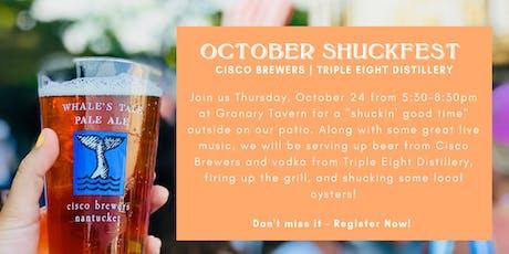 Cisco's October Shuckfest at Granary Tavern tickets