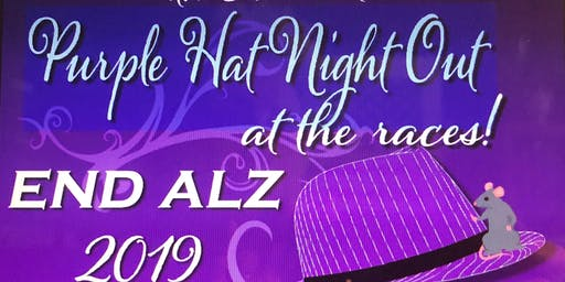 2019 Purple Hat Night Out - at the Races (Mouse Races!)