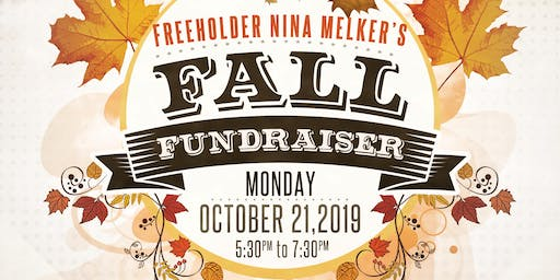 Fall Fundraiser in Support of Freeholder Nina Melker