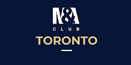 M&A Club Toronto : Meeting June 24th, 2020 tickets