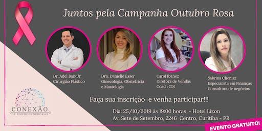 Conexão de Empreendedoras - Outubro Rosa