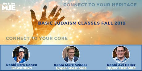 MJE Fall Classes: 5-Weeks Connecting To Your Core (Basic Judaism) tickets