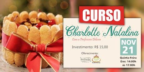 CURSO CHARLOTTE NATALINA ingressos