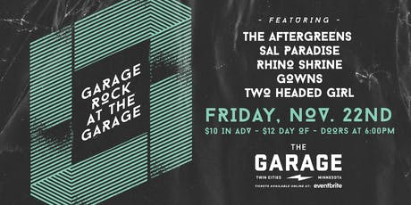 Garage Rock at THE GARAGE tickets