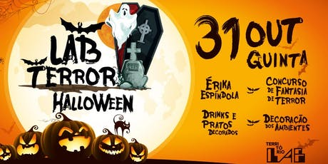 Festa: LAB Terror Halloween ingressos