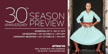 ArtServe's 30th Anniversary Season Preview Community Day at ArtServe tickets