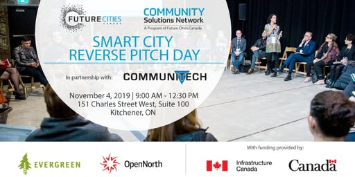 Smart Cities Reverse Pitch Day