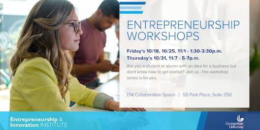 Entrepreneurship Workshops | Reducing Risk to Startup Failure