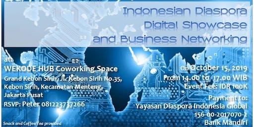 Indonesia Diaspora Digital Showcase and Business Networking
