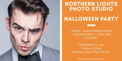 Northern Lights Photo Studio Halloween Party