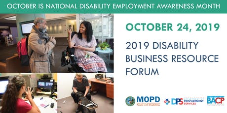 Disability Business Resource Forum tickets