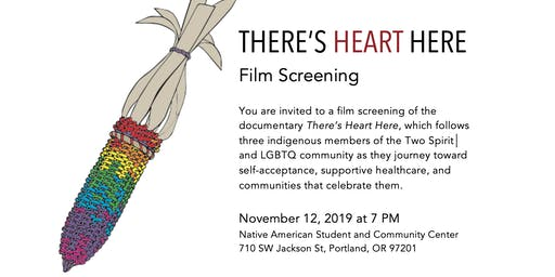 There's Heart Here: Film Screening