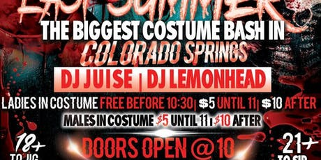 U.W.E Presents: :The Biggest Halloween Costume Bash in the Springs! tickets