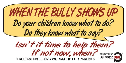 FREE ANTI-BULLYING WORKSHOP