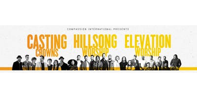 Hillsong. Casting Crowns. Elevation. - MERCHANDISE VOLS - N Little Rock, AR