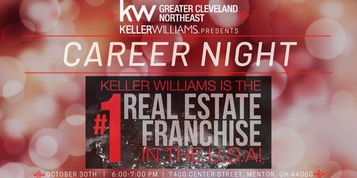 Career Night at Keller Williams Greater Cleveland Northeast
