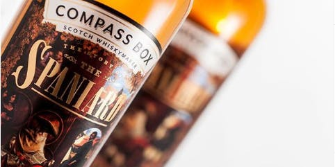 Compass Box Whisky 5-Course Dinner