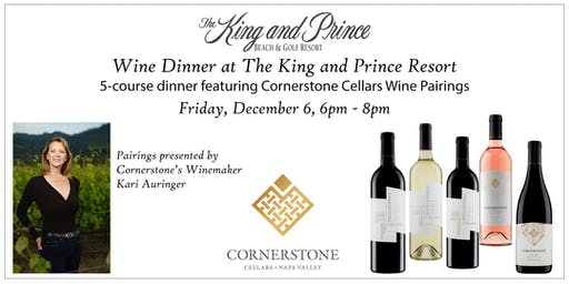 Wine Dinner at The King and Prince Resort