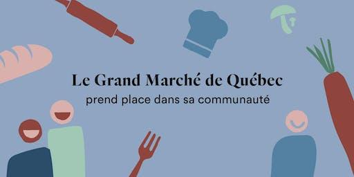 La corvée alimentaire du Grand Marché de Québec