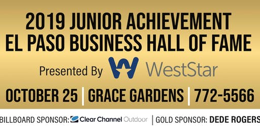 2019 Junior Achievement Business Hall of Fame presented by WestStar