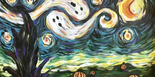 Van Gogh's Spooky Night